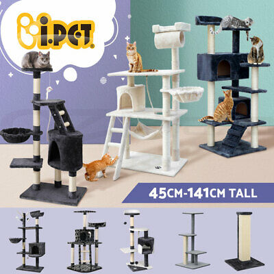 Cat Tree Scratching Post Scratcher Pole Gym Toy House Furniture Multi Level S