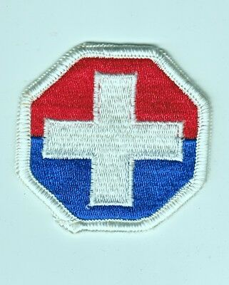 Army Patch: Medical Command, Korea - merrowed edge