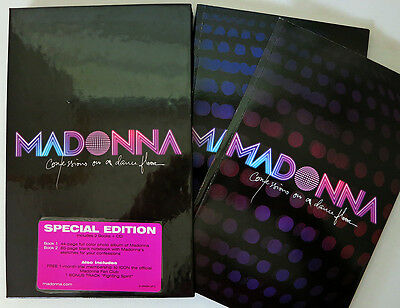 et535 Concert Tour Book MADONNA Confessions on a Dance Floor with CD ∫