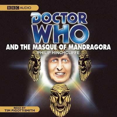 Doctor Who And The Masque of Mandragora  by Terrance Dicks Audiobook 4 CDs