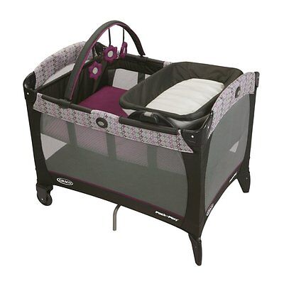 Graco Pack 'n Play On-The-Go Baby Travel Folding Playard - Nyssa | 1893760