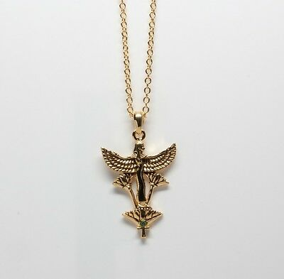 Egyptian Egypt Maat Goddess Necklace Pendant.Concept of Truth.Fashion Jewelry