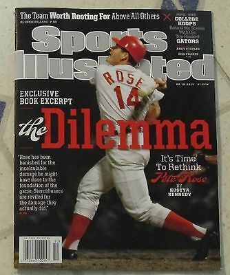 SPORTS Illustrated March 10, 2014 DILEMMA Of PETE ROSE Exclusive Book Excerpt ++