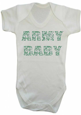Baby Boy,girl,army Camoflage Print Vest,babygrow,romper,gift,baby Clothes