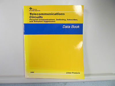 Texas Instruments Telecommunications Circuits Linear Products Data Book