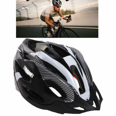 Unisex Adult Road Bike Bicycle Cycling Carbon  Safety Helmet Visor Adjustable
