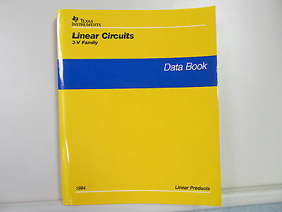 Texas Instruments  Linear Circuits  3-V Family  Data Book