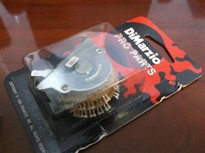 NEW - DiMarzio 5-Way Multipole Switch For Fender Strat, With Knobs