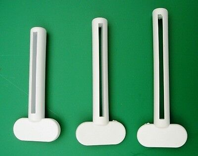 3 Key Tube Squeezers Paint Hairdressing Toothpaste Saver Beauty Salon Tinting