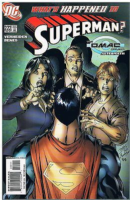 Superman No.222 / 2005 The Omac Project Aftermath