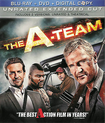 The A-Team ~ Unrated Extended Cut ~ 3-Disc Blu-ray + DVD + Digital Copy