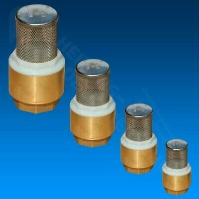 Foot valve Check valve with Strainer All Sizes