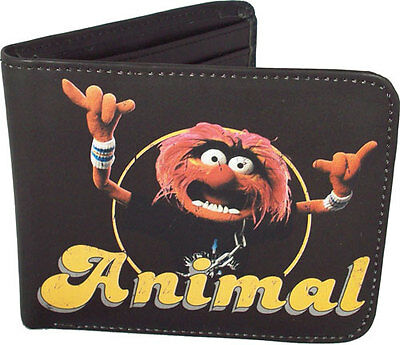 The Muppets - Animal Bi-Fold Wallet Boxed + Coin Pocket - New & Official Disney