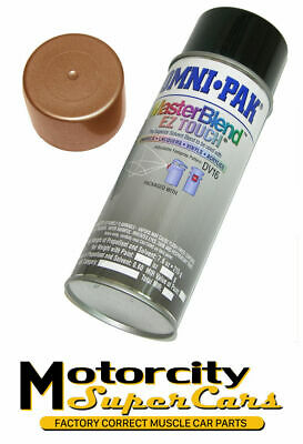 1965-67 Gm Oldsmobile 442 Engine Spray Paint Can Fast Dry Bronze 400Cid  Correct