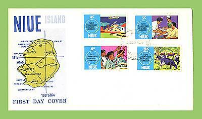 Niue 1972 South Pacific Commission anniversary set First Day Cover