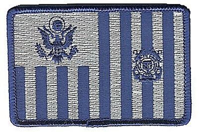 Coast Guard ensign navy pewter W4987 USCG Coast Guard patch