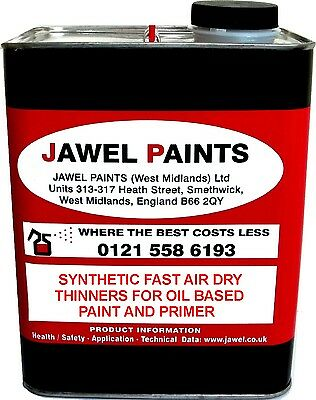 THINNERS FOR TRUCK COAT PAINT SYNTHETIC Fast air dry 2.5lt Size