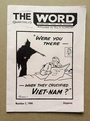 The Word Mightier Than The Sword No 3, 1966 - Guy A Aldred - Vietnam