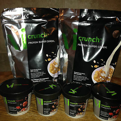 The ViSalus Body By Vi 90-Day Challenge! The Crunch Kit plus ViCrunch Fusions!!!