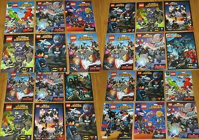 LEGO MARVEL DC SUPER HEROES Mini Figure 17cm COMICS  Different Titles to Choose.