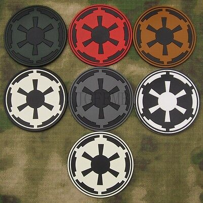 STAR WARS IMPERIAL Galactic Empire Tactical Military Morale 3D PVC Patch