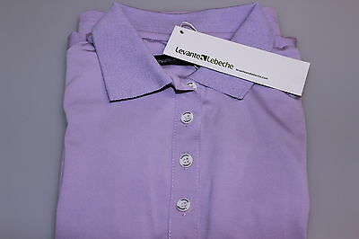 Ladies/Girls S Sleeve Polyester Elastane/Stretch Golf Polo Extra Small Lilac New