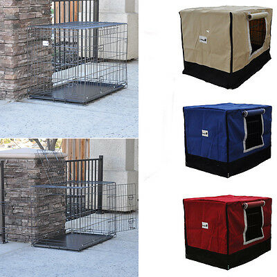 New Graphite Grey Folding Wire Dog Cage Crate Kennel with ABS or Metal Tray