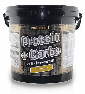 Nutrisport Protein & Carbs All In One Muscle Gain Strength - 5Kg - All Flavours