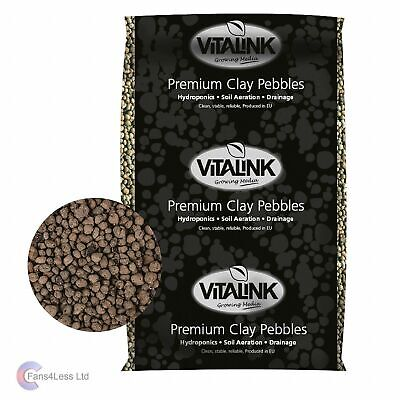 VITALINK 10 25 45 litre Clay Pebbles bag hydroponics grow system perfect growing