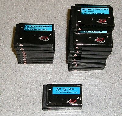 Lot of 26 Lithium Ion Batteries 3.6V for Motorola i50sx/i85s/V60c