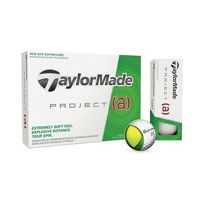TaylorMade Golf Project (a) Golf Balls 1 Dozen 2016 Model