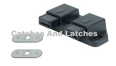 1 X Double Magnetic Pressure Touch Catches Push To Open Kitchen Cabinet  Doors
