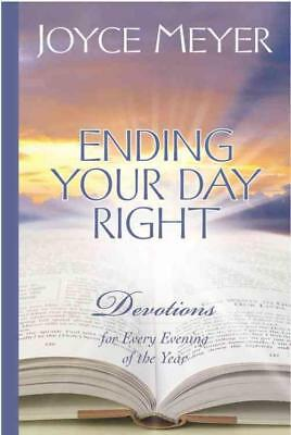 Ending Your Day Right - Joyce Meyer (Hardcover) New