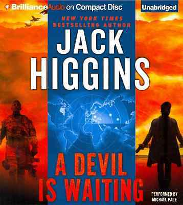 [CD] A Devil Is Waiting By Higgins, Jack/ Page, Michael (NRT)