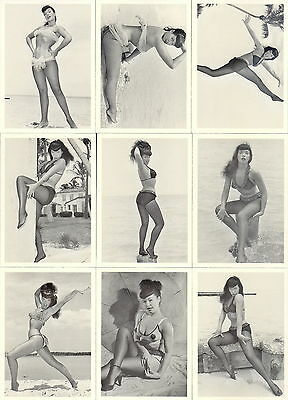 Bettie Page Queen Of Curves 1996 21St Century Archives Base Card Set Of 50 Ad