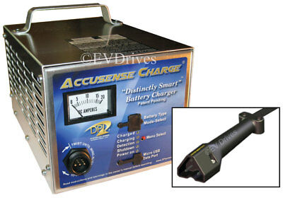 DPI Golf Cart Charger 48V 17A with RXV Connector - Accusense Intelligent
