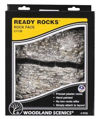 NEW Woodland Scenics Ready Rocks Rock Face Rocks C1138