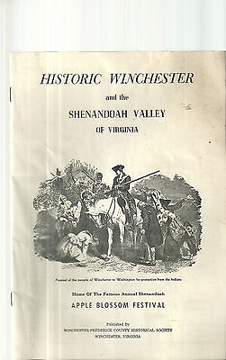 Guide to Historic Winchester Virginia Frederick County