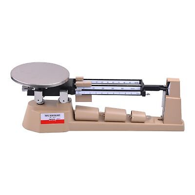 2610gX0.1g Triple Beam Pan Mechanical Balance Scale Lab Analytical Weighing
