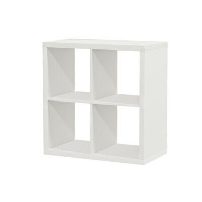 IKEA KALLAX Regal weiß (77 x 77cm) Kompatibel mit Expedit Wandregal Bücherregal