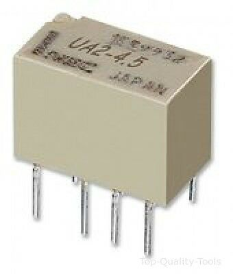 RELAY, DPCO, 2A, 12V, THT, LATCHING Part # KEMET EC2-12SNU