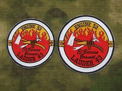 El Barriss Engine 53 Ladder 43 SEAL TEAM Operation Red Wings Lone Survivor Patch