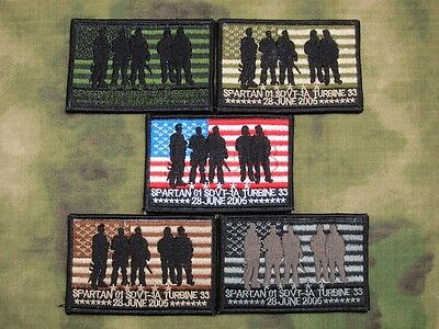 Mark SEAL TEAM Operation Red Wings Lone Survivor Spartan 01 SDVT-1A Patch