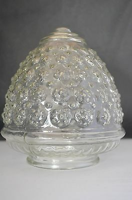 Vintage Acorn Floral Texture Bubble Glass Sconce Fitter Shades for Ceiling