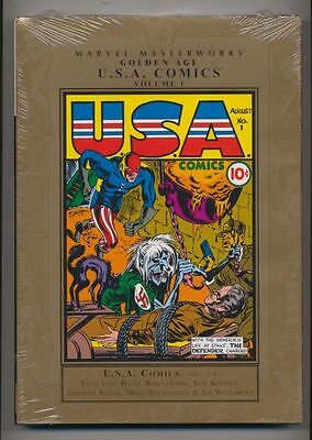 Marvel Masterworks Golden Age USA Comics Volume 1