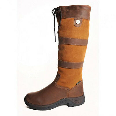 New Dublin Tall River Boots - Brown - Various Sizes