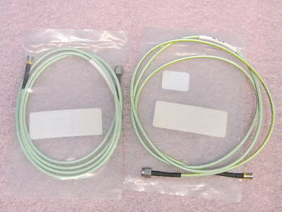 (2) New 48 Inch 1.85mm(m) V connector to SMA(f) Adapter Cable