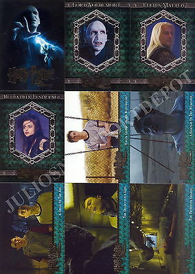 Harry Potter And The Order Of The Phoenix Movie Update 2007 Base Card Set Of 90