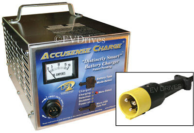 DPI Golf Cart Charger 36V 18A with StarCar Round Connector - Accusense