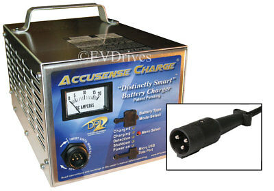 DPI Golf Cart Charger 48V with StarCar Round Connector - Accusense Intelligent